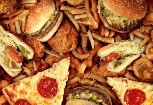 Gorduras não saudáveis