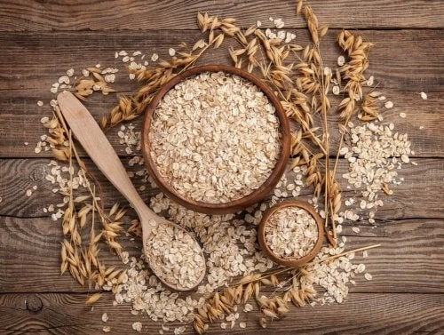 Flocos de aveia são cereais integrais