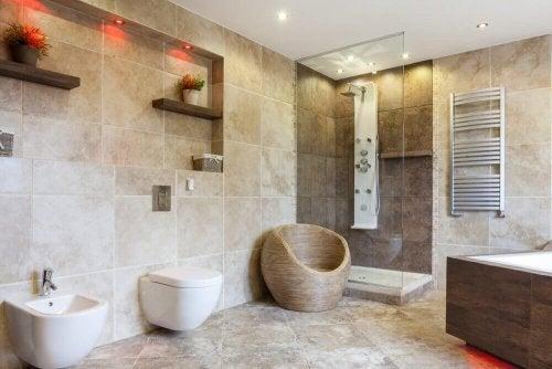 9 decorações de banheiro para escolher