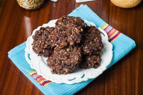 Biscoitos ricos em proteína sem glúten