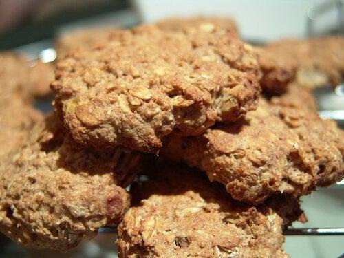 Biscoitos ricos em proteína