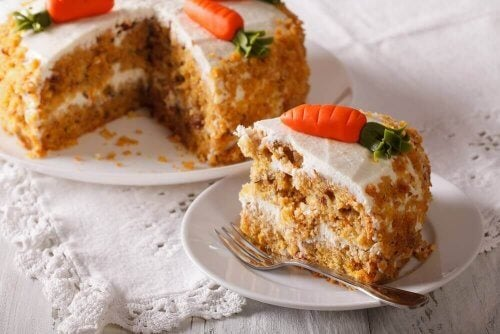 Bolo de cenoura delicioso sem ovo nem gordura