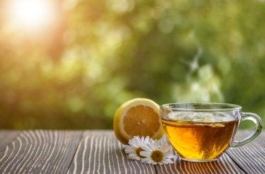 Diga adeus ao estresse com chá de camomila
