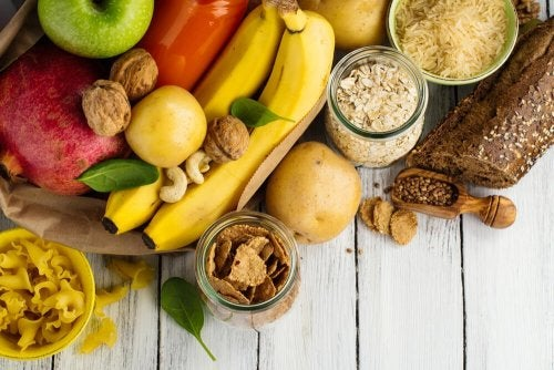 Tipos de carboidratos na dieta