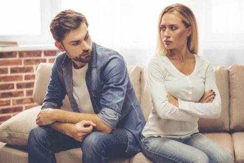fases do divórcio: indiferença