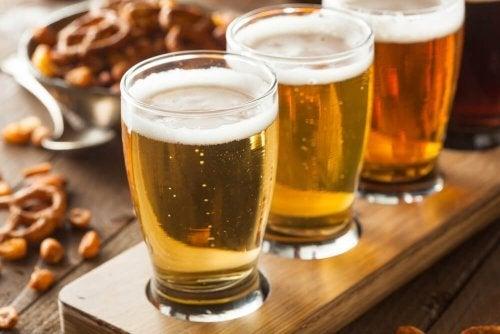 Bebidas para a dieta da cerveja