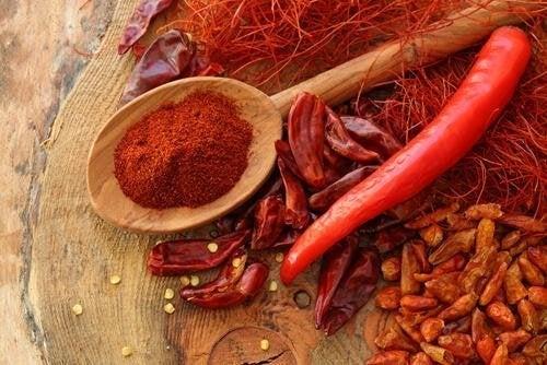 Pimenta para a sopa asteca