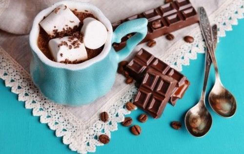 Sobremesas perfeitas: chocolate quente