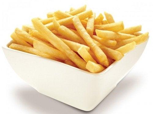 Como fazer batatas fritas crocantes