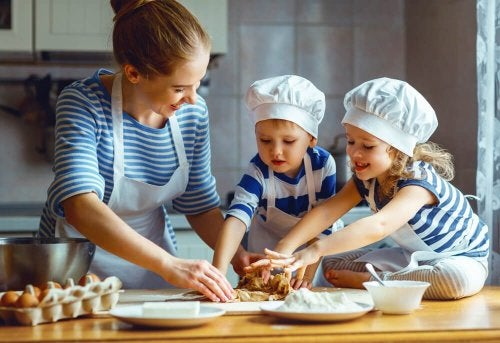 Como motivar seu filho a comer : Faça receitas para crianças