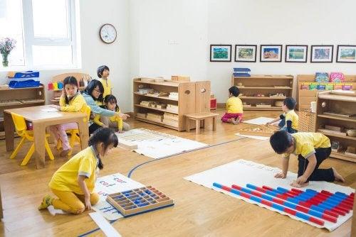 Atividades grupais que ajudama educar as crianças
