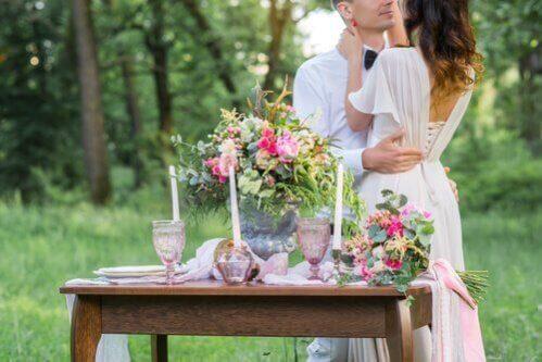Decorações na moda para casamentos