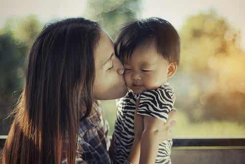 Nunca se esqueça de despedir-se do seu filho ao sair de casa