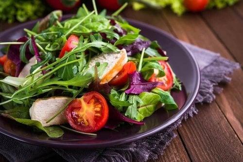Dieta saudável para evitar doenças
