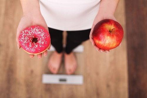 Os riscos de fazer uma dieta: efeito sanfona