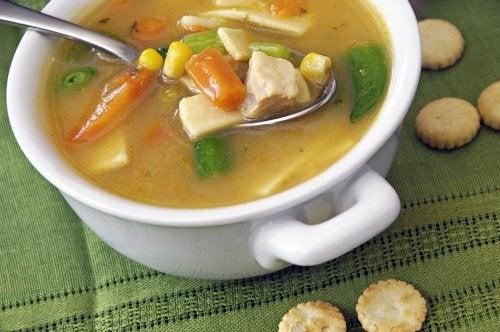 Sopa da dieta hipossodica