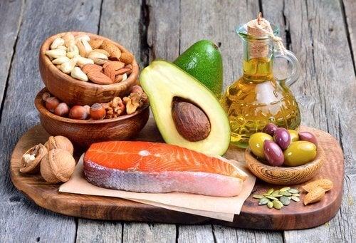 Alimentos com gorduras saudáveis