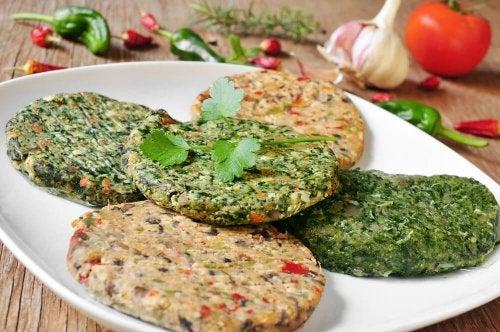Hambúrgueres de lentilha: perfeitos para o seu paladar