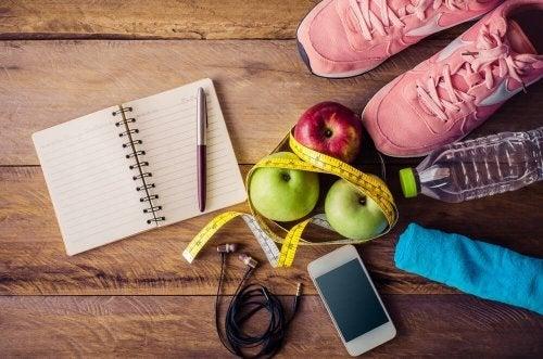 Itens para se exercitar