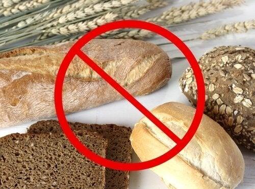 Alimentos sem glúten nem lactose para a dieta da moda