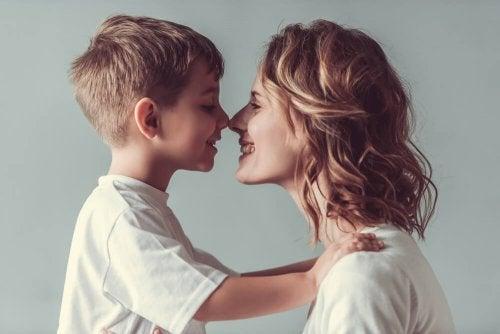 Sair sem despedir-se do seu filho pode ter futuros traumas