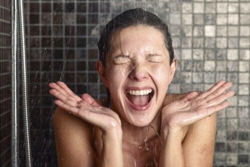 Banhos frios