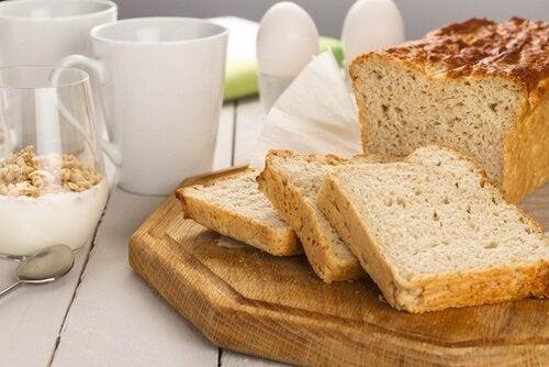 Pão para intolerantes ao glúten