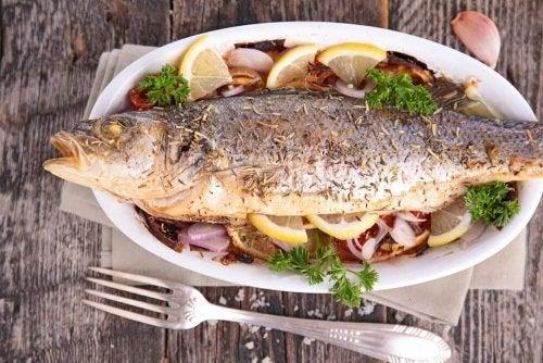 Receita com truta, perfeita para combater o colesterol