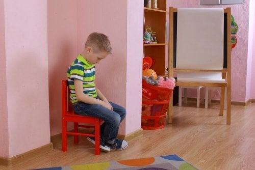 Como punir as crianças: penitência