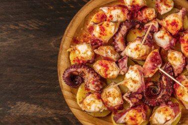 Delicioso polvo galego, receita caseira