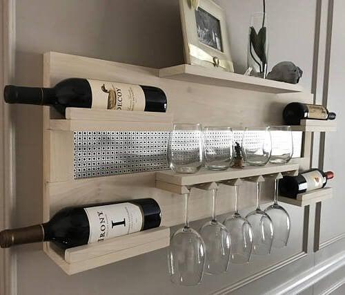 Em que lugar é bom ter um porta-garrafas para suas bebidas
