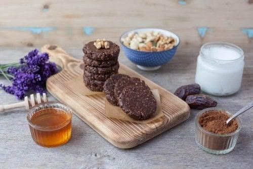Receitas de biscoitos ricos em proteína