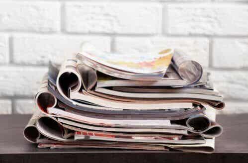 2 ideias inteligentes para reutilizar revistas velhas