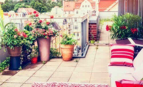 As melhores ideias para decorar um terraço urbano