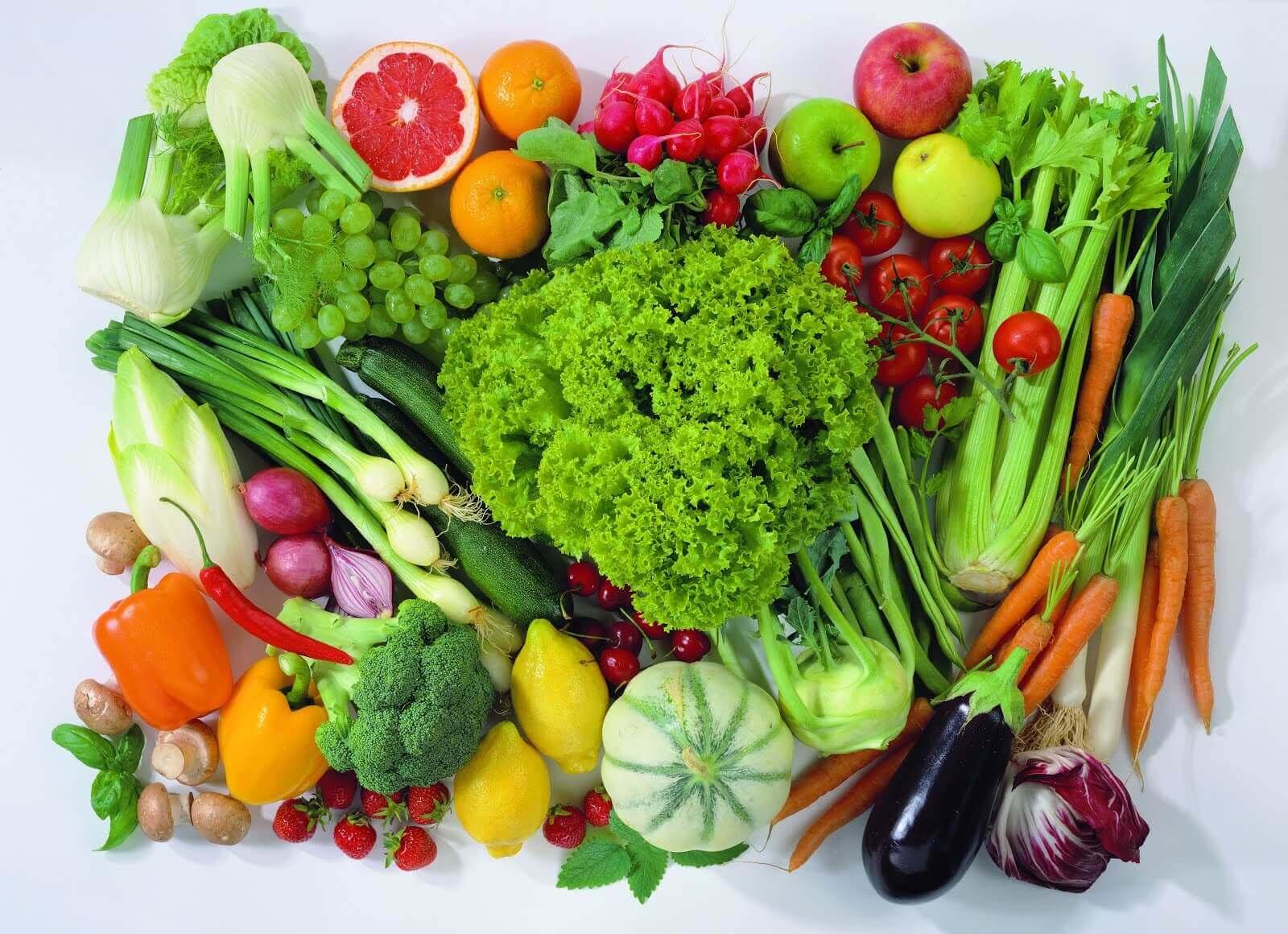 Ingredientes de uma alimentação macrobiótica