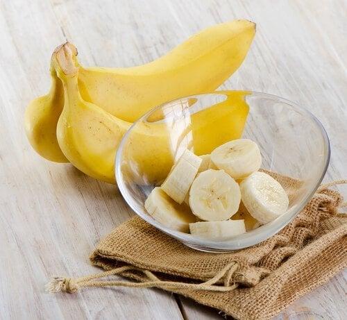 Banana para torta vegana