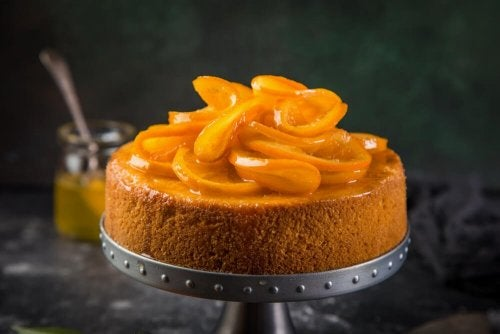 Torta de laranja caseira e rápida