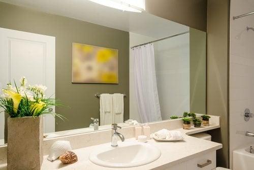 Pode modernizar o banheiro usando acessório