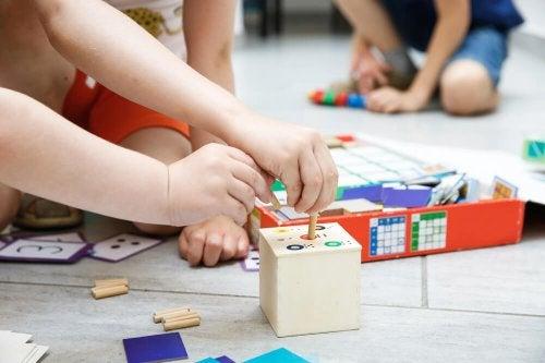 Brinquedos que ajudam a educar as crianças