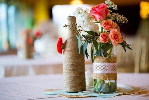 Pode fazer vasos com recipientes de plástico