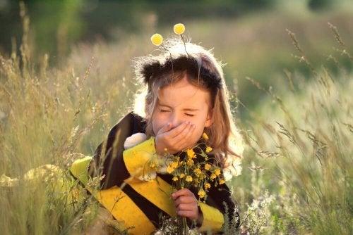 Dicas contra a alergia infantil: Limitar atividades ao ar livre