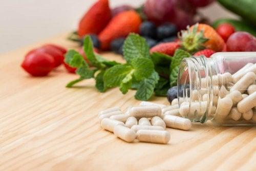 Contribuições das vitaminas nas dietas