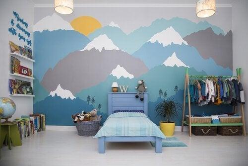 A melhor maneira de fazer um mural infantil
