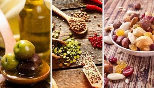 Alimentos da dieta saudável