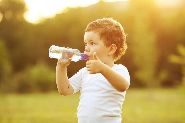 Quando um bebê deve começar a beber água?