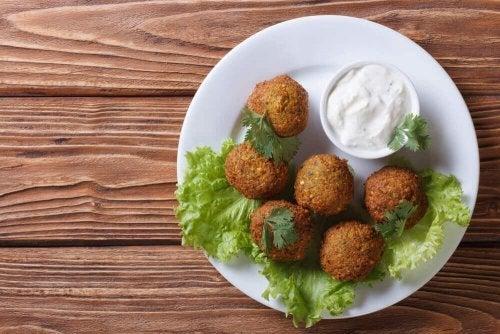 Bolinhas de grão de bico: receita vegana sem glúten