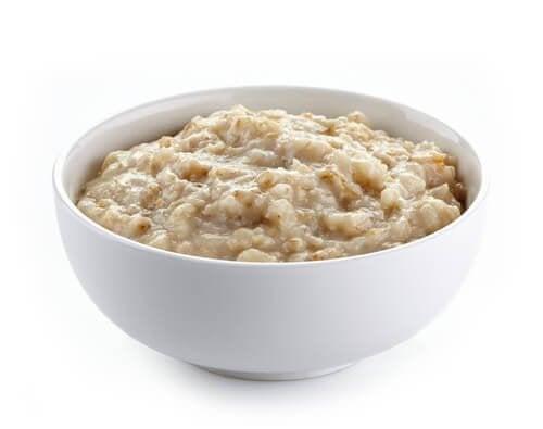 Opções de café da manhã saudável: Mingau de aveia