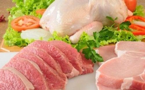 Carnes são alimentos para obter colágeno através da dieta