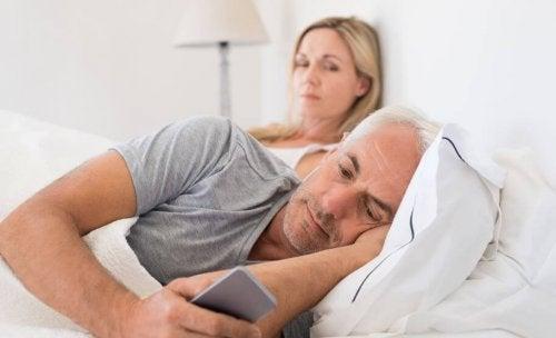 A falta de interesse pode ser a causa de infidelidade