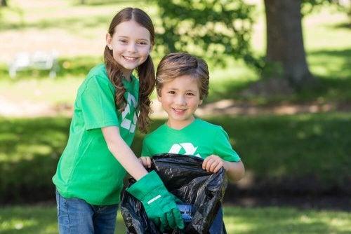 Reciclar ajuda a cuidar do meio ambiente